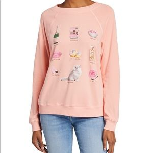 WILDFOX   Girls Night In Sommers Sweater Medium